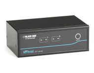 Black Box 2-Port Desktop KVM Switch, Dual-Head DVI-D, USB KV9622A