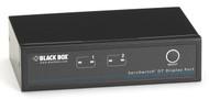 Black Box ServSwitch KVM Switch DT DisplayPort with USB and Audio, 2-Port KV9702A