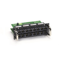 Black Box 8-Port 100-Mbps Fiber Module for Modular Managed L2 Switch, Multimode, LB621C