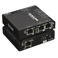 Black Box 4 Port Industrial Fast Ethernet Switch Extreme Temperature LBH101A-P-12