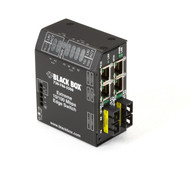Black Box Extreme Heavy-Duty Edge Switch, (4) 10/100 Copper + (2) Fiber Port LBH240AE-P-SSC