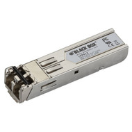 Black Box SFP, 1250-Mbps Fiber with Extended Diagnostics, 1310-nm Multimode, LC, LFP412