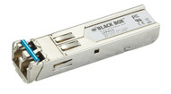 Black Box SFP, 1250-Mbps Fiber with Extended Diagnostics, 1310-nm Single-Mode, L LFP413