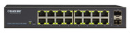 Black Box 18-Port Gigabit Ethernet Switch Web Smart Eco Fanless LGB2118A