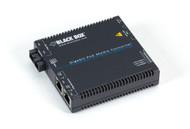 Black Box Media Converter Gigabit Ethernet PoE Multimode 850nm 550m SC LGC5201A