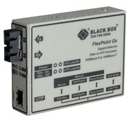 Black Box FlexPoint Modular Media Converter, 1000BASE-T to 1000BASE-SX, 850-nm M LMC1003A-R3