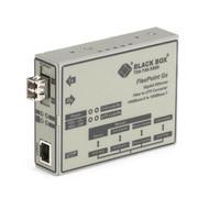 Black Box Media Converter Gigabit Ethernet Multimode 850nm 220m LC LMC1012A