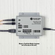 Black Box Wallmounting Hardware for FlexPoint Media Converters LMC206-WALL