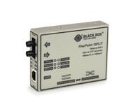 Black Box Media Converter Ethernet Single Mode 1310nm 15km ST LMC212A-SM-R3