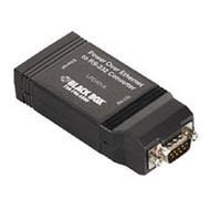 Black Box Power over Ethernet to RS-232 Converter, RS-232 LPD401A