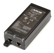 Black Box PoE Injector 1 Port Gigabit Ethernet 802.3at LPJ001A-T