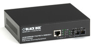 Black Box Media Converter Gigabit Ethernet PoE Multimode 850nm 550m SC LPS500A-MM-SC