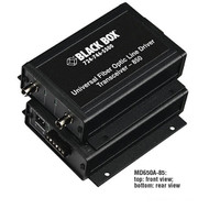 Black Box Async RS232 RS422 RS485 extender fiber Terminal Block ST SM MD650A-13