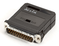 Black Box Async RS232 Extender over CATx DB25 M non-powered ME1821A-M
