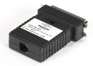 Black Box Parallel Line Driver-Receiver, Centronics Male, RJ-11 ME193A