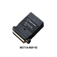 Black Box Mini Driver MP/5-Screw Terminal Block with Surge Protection, DB25 Male ME771A-MSP-R2