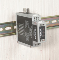Black Box DIN Rail RS-232/RS-485 to Fiber Driver MED100A