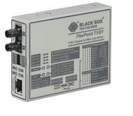 Black Box FlexPoint T1/E1 to Fiber Line Driver, Multimode, 5 km, ST MT660A-MM