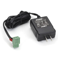 Black Box Power Adapter, 100-240-VAC to 12-VDC, Locking Jack PS012B