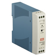 Black Box DIN Rail Power Supply, 12-VDC PSD100-R2