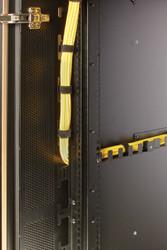 Black Box QuietCab Cable Manager, 24U, Vertical, Angled QCCMV-24U-A