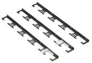 Black Box Cable Manager Vertical, 42U, Standard QCCMV-42U-S