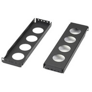 "Black Box Rail Extension Bracket, 2U, 3"" Deep REB2-2U-3"