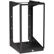 "Black Box Ultra Wallmount Rack, 25""D (63.5-cm), 19U 35""H (88.9-cm), Black RM051A-R2"