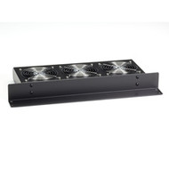 Black Box Rackmount Fan Tray, Horizontal, 220V RM075-220V-R2