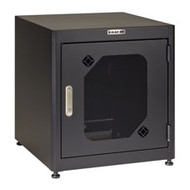 "Black Box SOHO (Small Office/Home Office) Cabinet, 24.8""H x 24""W x 24""D, Mesh Do RM140A-M-R3"