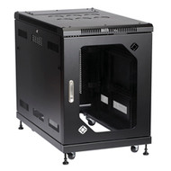 Black Box Select Server Cabinet with Tempered Glass Door, 15U RM2410A