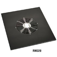 "Black Box Comm Cabinet Fan Tray - 5""H, 17.72""W x 20""D RM320"
