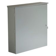 "Black Box Wallmount Equipment Termination Cabinet, 36""H x 36""W x 9""D RM902A"