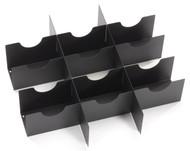 Black Box Media Partition, 4U, forMedia Storage Drawer for 101 CDs or DVDs RMMT22