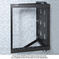 Black Box Heavy-Duty Wallmount Frame - 20U RMT072A-R2