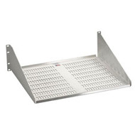 Black Box Vented Premier Rack Shelf, Single-Sided, Aluminum Finish RMT137