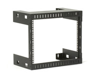 Black Box 8U Wallmount Rack, M5 Square Holes, 200lbs RMT990A