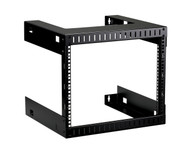 Black Box 8U Wallmount Rack, M5 Square Holes, 150lbs RMT993A