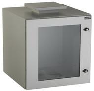 Black Box 12U NEMA12 Wallmount Cabinet w/ Fan SGL Hinged Beige RMW5120AF