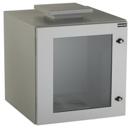 Black Box ClimateCab NEMA 12 Wallmount Cabinet with Fan, Beige, Single-Hinged RMW5120AF