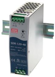 Black Box DIN Rail Power Supply, 120 Watts, 48 VDC SDR-120-48