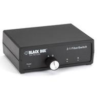 Black Box 2-to-1 Fiber Switch, ST SW459A-ST