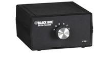 Black Box DesktopHD15 SVGA 6 to 1 Manual Switch FFFFFFF SW920A