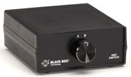 Black Box Desktop V.35 M34 2 to 1 Manual Switch FFF All Leads SWL751A-FFF