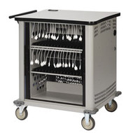 Black Box 16-Slot Charging Tablet Cart TAB16C