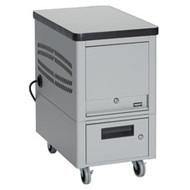 Black Box 10-Unit Tablet Locker Cart TABDEPC-10