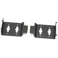"Black Box Dual PDU Mounting Brackets for 24"" Wide Elite(TM) Cabinets, 2-Pack ECPDUMK24"