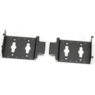 "Black Box Dual PDU Mounting Brackets for 30"" Wide Elite Cabinets, 2-Pack ECPDUMK30"