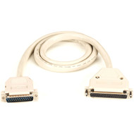 Black Box RS449 To RS530 Shielded Data Cable DB25M/DB37F 6Ft. EDN57T-0006-MF