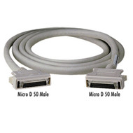 Black Box Micro D 50 to Micro D 50 Cables, 10-ft. (3.0-m) EVMSC01-0010-MF